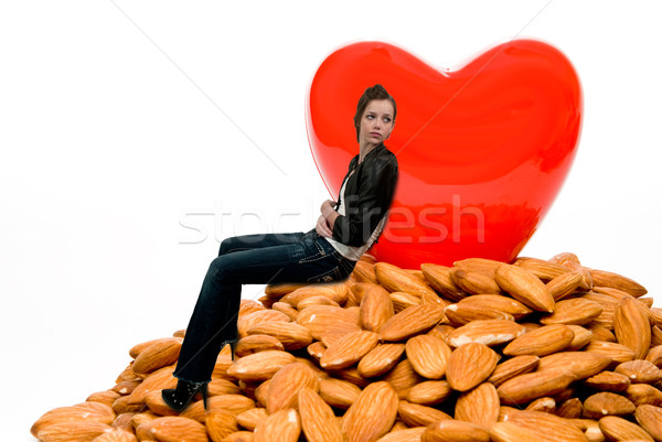 Woman with a Healthy Heart Stock photo © piedmontphoto
