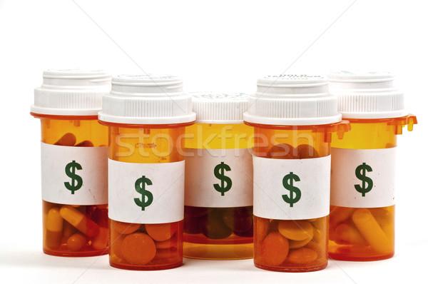 Hoog kosten gezondheidszorg teken geneeskunde zorg Stockfoto © piedmontphoto