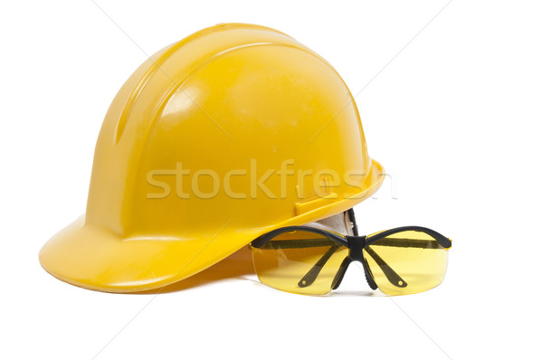 Safety Glasses and Hard Hat Stock photo © piedmontphoto