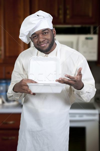 Chef Takeout Stock photo © piedmontphoto