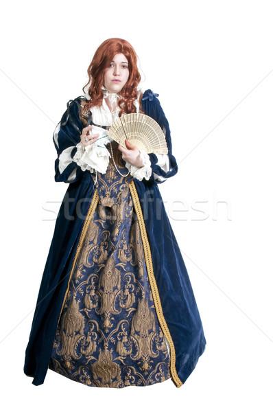 Stock photo: Renaissance Woman