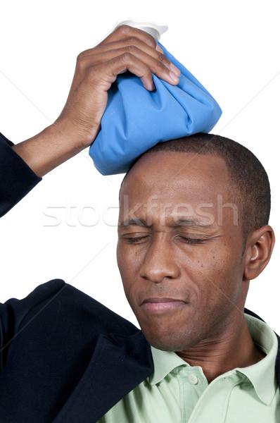 Man with Headache Stock photo © piedmontphoto