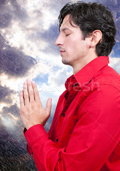 Man praying Stock photo © piedmontphoto