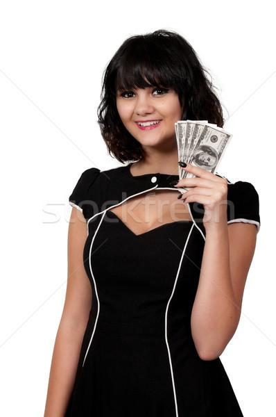 Mulher 100 bela mulher mão Foto stock © piedmontphoto