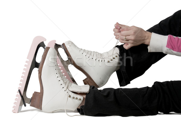 Figure Skater Stock photo © piedmontphoto