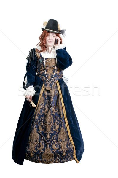 女性 本物の ドレス ファッション ヨーロッパ コール ストックフォト © piedmontphoto