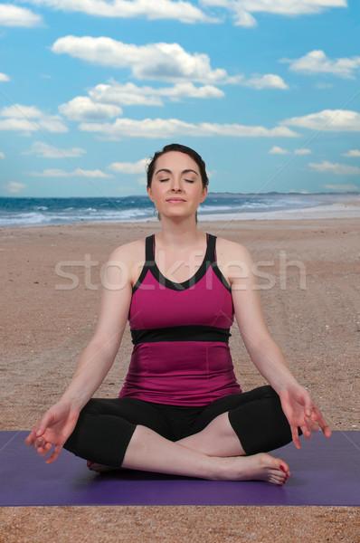 女性 ヨガ 美人 スタンス 少女 女性 ストックフォト © piedmontphoto