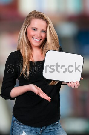 Mulher belo mulher jovem Foto stock © piedmontphoto