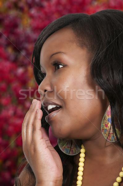 Woman Yawning Stock photo © piedmontphoto