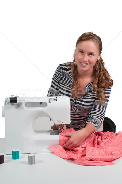 Woman Seamstress Stock photo © piedmontphoto