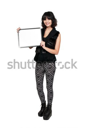 Femenino detective hermosa policía mujer Trabajo Foto stock © piedmontphoto