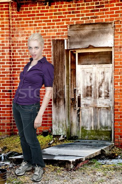 Drunk Woman Stock photo © piedmontphoto