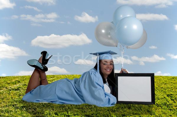 大学院 小さな 黒 アフリカ系アメリカ人 女性 卒業 ストックフォト © piedmontphoto