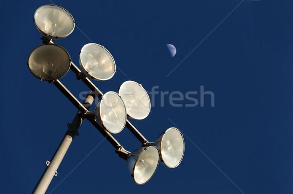 Stadium Lights Stock photo © piedmontphoto