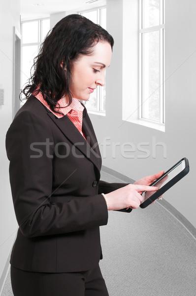 Woman Using Tablet Stock photo © piedmontphoto