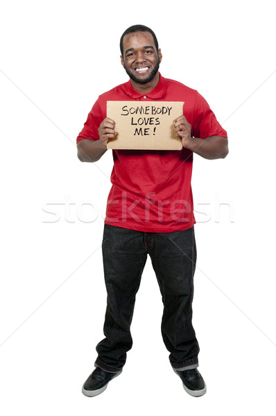 Somebody Loves Me Stock photo © piedmontphoto