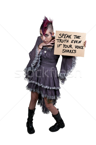 女性 にログイン 美しい 若い女性 ストックフォト © piedmontphoto