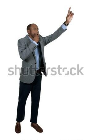 Hailing a Cab Stock photo © piedmontphoto