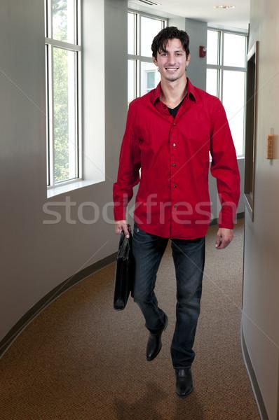 男 短い 場合 ハンサム 若い男 ストックフォト © piedmontphoto