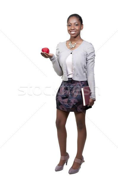 美しい 代 女性 アフリカ系アメリカ人 黒人女性 十代の ストックフォト © piedmontphoto