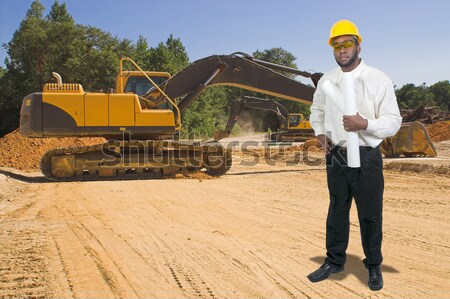 Foto stock: Preto · homem · negro · africano · americano · trabalho