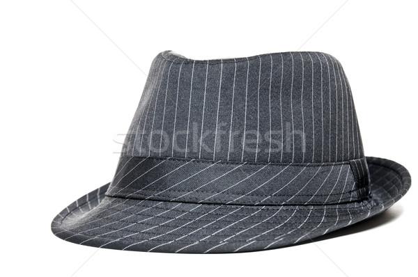 Stockfoto: Fedora · jaar · 1950 · stijl · hoed · mode