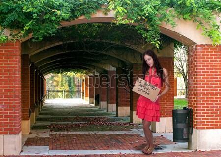 Hermosa jóvenes chica de campo mujer elegante Foto stock © piedmontphoto