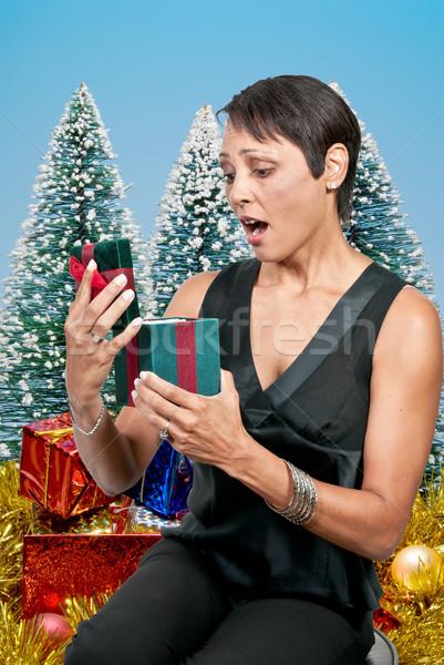 Christmas Present Stock photo © piedmontphoto