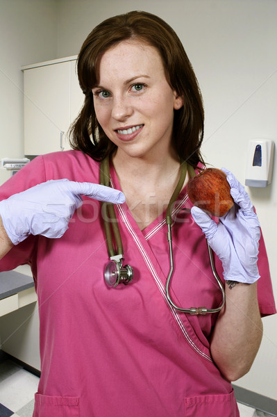 Female Cardiologist Stock photo © piedmontphoto