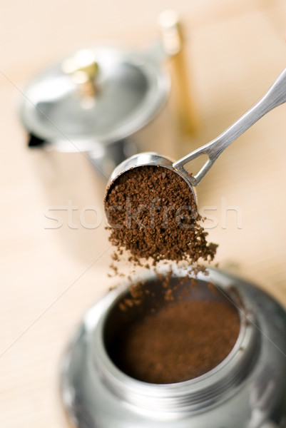 Coffee maker. Stock photo © Pietus
