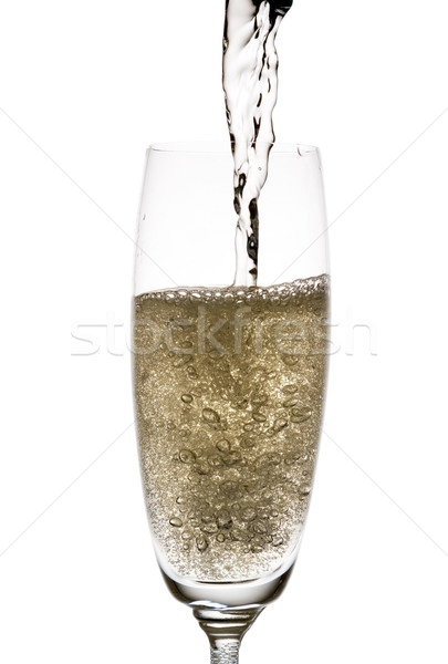 Bubbly champagne. Stock photo © Pietus