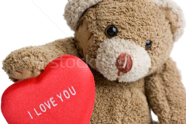 Valentine's Teddy Bear. Stock photo © Pietus