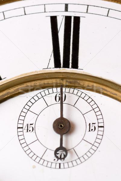Old clock. Stock photo © Pietus