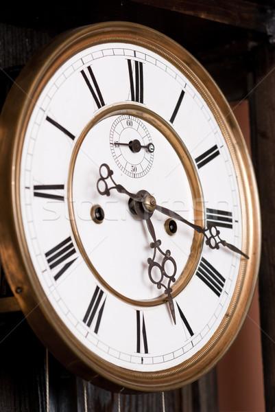 Stock photo: Old clock.