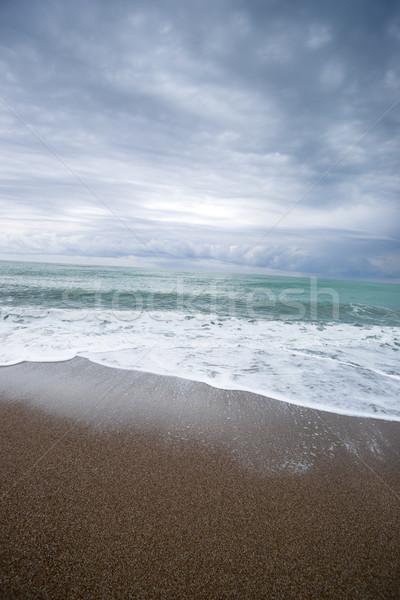 Zee middellandse zee bewolkt hemel turks Stockfoto © Pietus