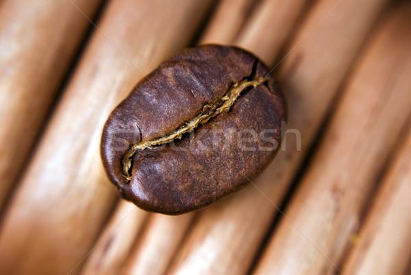 Stok fotoğraf: Kahve · çekirdeği · kahve · tohum · gıda · karanlık