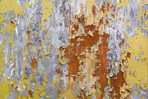 Peeled paint. Stock photo © Pietus
