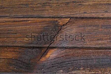 Eski tahta kaba doku ahşap dokular Stok fotoğraf © Pietus