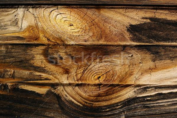 Oude boord ruw natuur texturen zwarte Stockfoto © Pietus