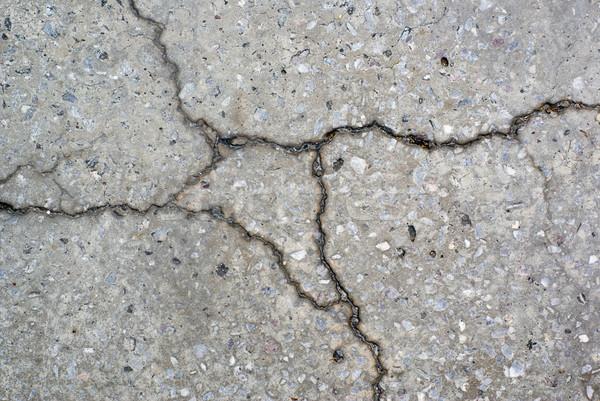 Agrietado detalle piso textura fondo concretas Foto stock © Pietus