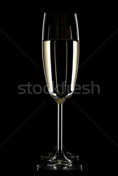 Two champagne flute. Stock photo © Pietus