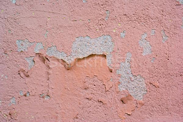 Edad pared pintura concretas patrón rosa Foto stock © Pietus