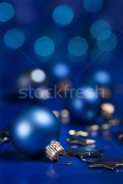 Christmas decoratie bal selectieve aandacht Stockfoto © Pietus