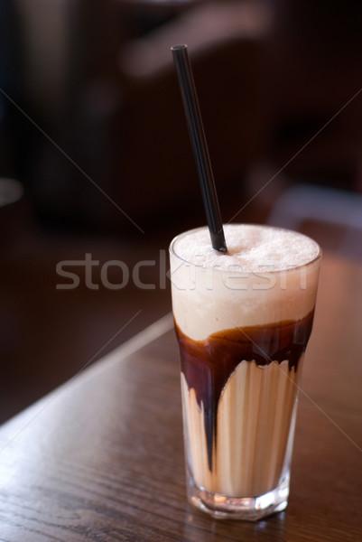 Coffee - latte macchiato Stock photo © Pietus