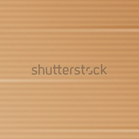 Stock photo: Cardboard Texture Vector. Realistic Material Paper Cartoon Background. Graphic Design Element For Po