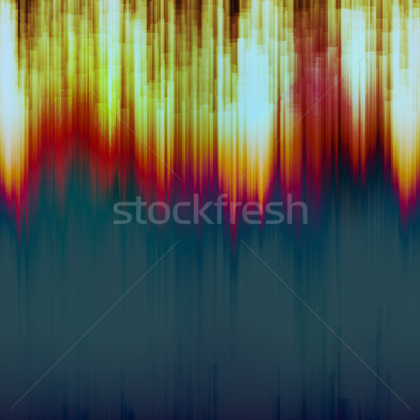 Glitch Background Vector. Digital Image Stock photo © pikepicture