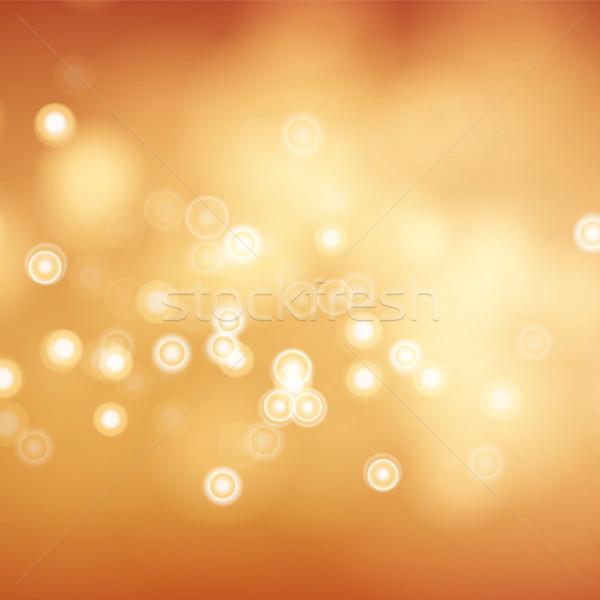 Blur abstract immagine splendente luci vettore Foto d'archivio © pikepicture