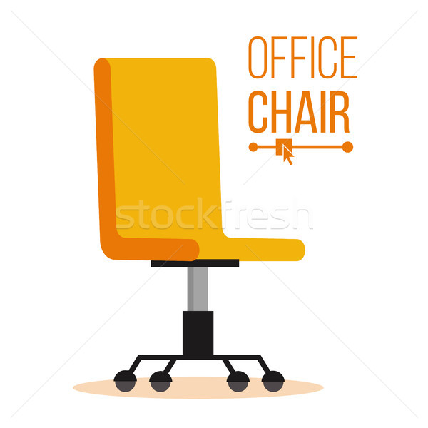 Chaise de bureau vecteur affaires recrutement vide siège Photo stock © pikepicture