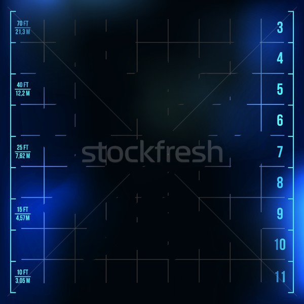 X-Ray Medical Background Vector. Medical Backdrop. Radiology Neon Scan Effect. Illustration Stock photo © pikepicture