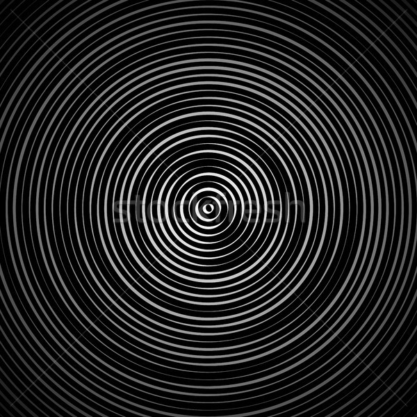 Moire Abstract Texture Vector. Moire Waves. Vector Warped Lines Background. Moire Effect. Stock photo © pikepicture